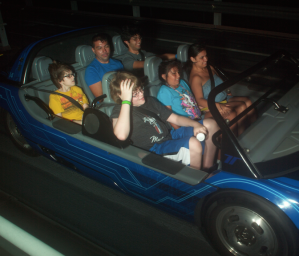 A Shane spotting on Test Track!